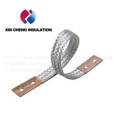 연약한 전도성 연결 편평한 구리를 가진 구리 끈목