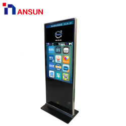 ホテルまたはレストランまたは記憶装置の広告プレーヤーのための卸し売り自由な地位LCDの表示