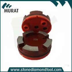 ruota a disco di molatura del diamante del metallo di 100mm per la smerigliatrice del calcestruzzo di Klindex