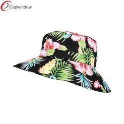 Populäre Frauen-Blumenwannen-Schutzkappen-Hut