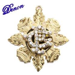 Il prezzo di fabbrica dorato Shinny il Pin del risvolto dei diamanti