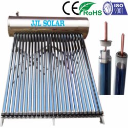 conduit de chaleur intégré compact/pressurisé chauffe-eau solaire Geyser solaire