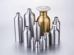 Bottiglie di alluminio cosmetiche per l'imballaggio della lozione e del profumo (PPC-ACB-060)