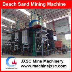 Processus de zircon concentrateur de la table vibrante de l'équipement, de la plage de sable l'usine de processus
