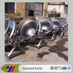 100L при наклоне чайник для приготовления пищи в защитной оболочке пара плита