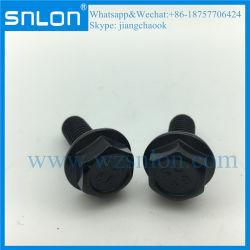 아연 니켈 티타늄 스테인리스 스틸 육각 헤드 플랜지 볼트