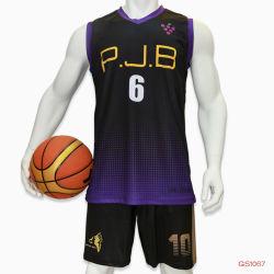 Healong верхней части марки баскетбол Джерси технологию сублимации спортивной одежды реверсивный баскетбол единообразных