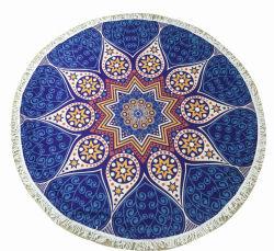 Multi-Purpose grand cercle Mandala Serviette de plage ronde personnalisée
