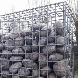 擁壁のための金網のGabionの装飾的な溶接された塀