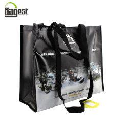 Biodegradable/reciclaje/Ok Compost Tejida Bolsa de compras (BSCI/ISO9001/Walmart/RCS GRS/oekotex100/100)