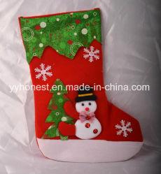 Рождество настоящего горячие продажи рекламных украшения рождественские носки