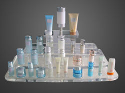 Acryl Kosmetische Vertoning, Gezondheid en Schoonheid, de Vitrine van de Make-up