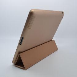 Оптовая торговля 2015 силиконовый футляр из натуральной кожи для iPad234