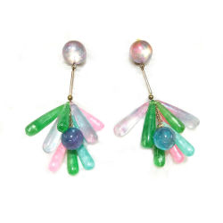 Accessori delle donne dei monili dell'orecchino del progettista degli orecchini dei monili di modo