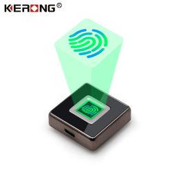 Красивые KERONG безопасности малых смарт-карт считыватель отпечатков пальцев Панель электронного ящика шкафа замки для Сейф