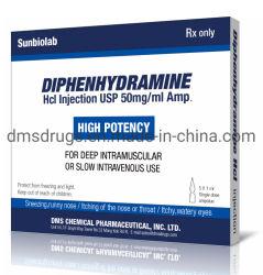 Hochwertige Diphenhydramine Hydrochlorid Antihistaminic Droge 50mg/Ml