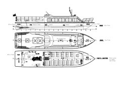13.6m haute vitesse de la Police de la cabine de bateau bateau de patrouille de la Garde côtière