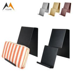 Дешевые цены оптовые индивидуальные 2 слой металла Wallet дисплей для установки в стойку