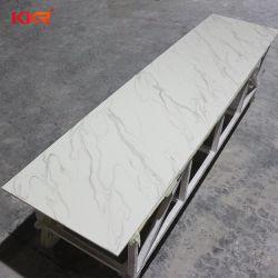 Pierre de marbre artificiel Corian Surface solide panneaux texturée