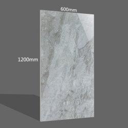 1200X600 vitrage complet du corps de la porcelaine de marbre gris des tuiles de plancher