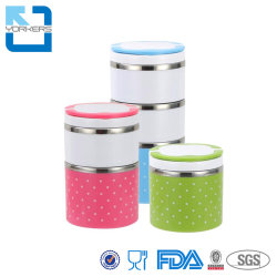 ميني Ss201/304 Food Carrier Box Stealer Tiffin Tiffin