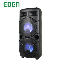 Altoparlante ricaricabile professionale senza fili portatile di PA di Bluetooth del carrello della cassa di risonanza di karaoke del DJ di multimedia con l'indicatore luminoso del LED