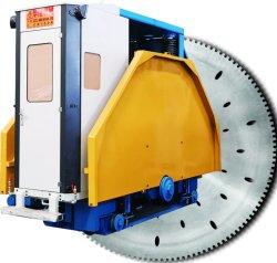 2qyk-3000 Mármore Granito máquina de corte de pedra de lâmina dupla Pedreira de preços sobre o transporte ferroviário de mineração do bloco movendo