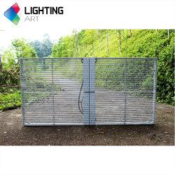 실내 P3.96 빌딩을 위한 투명 LED 그리드 디스플레이