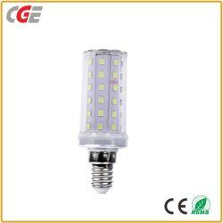 E27 de gros de l'usine de haute qualité en aluminium PC+ voyant lampe 12W 16W