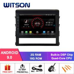 """Grande automobile DVD del Android 9.0 dello schermo di Witson 10.2 """" per Toyota Landcruiser 2016"""