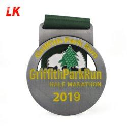 Médaille de métal des douanes de l'honneur avec le ruban de la concurrence