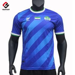 Nuova uniforme di gioco del calcio di usura di calcio di sublimazione degli abiti sportivi di disegno