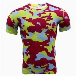 Летом мужчин Sportswear экипаж шеи короткие втулки Одежда повседневная дышащий архив футболка баскетбол единообразных