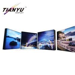 Comércio de exposições Mostrar Signage sem caixilho de alumínio Seg Photography Caixa de luz LED