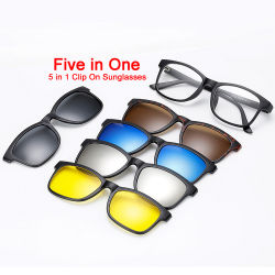 Clip alla moda diretta 2020 della fabbrica nuova su visione notturna degli occhiali da sole