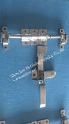 Galvanisierter Lock Mechanism System Shipping Container Door Locking Bar Nocken und Keeper
