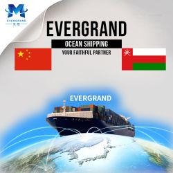 De professionele Overzeese Verschepende Dienst van de Vracht van China aan Oman/Muscateldruif/Sohar
