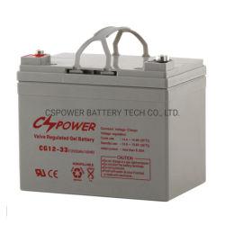太陽インバーターのための12V 33ah SMFの記憶のゲル電池