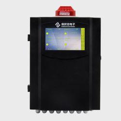 Sensor van de Detector van het Gas van het Gas van het Scherm van multi-kanalen Touchable Controlebord Vaste