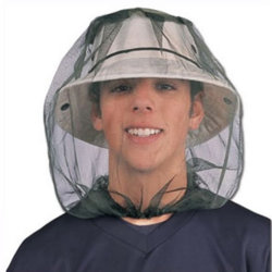 Red Hat Anti-Mosquito насекомых головки Net сетка маска с