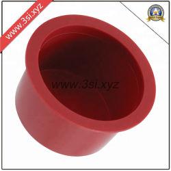 El tubo de plástico rojo Protector tubo cónico de tapones de los extremos (YZF-C421)