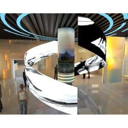 Visualizzazione di LED flessibile completa ultra sottile di colore SMD, modulo molle della gomma LED con il collegamento del magnete