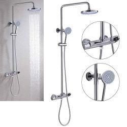 -Luolin os aforradores, novo nos anos- Chuveiro / Torneira torneira, conjunto de duche de hidromassagem, chuveiros com sistema de chuveiro chuveiro da coluna de instrumentos, Tubo de chuveiro chuveiro Rainfall batedeira, 872