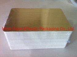 Золото картон мусс торт бумаги лоток