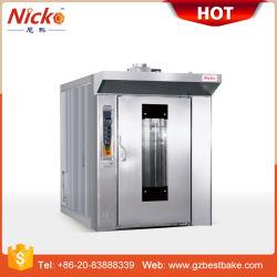 ケーキ機械のための32の皿の電気回転式オーブン