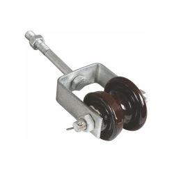 鉄が付いているより安いANSIの低電圧の陶磁器の手錠の絶縁体