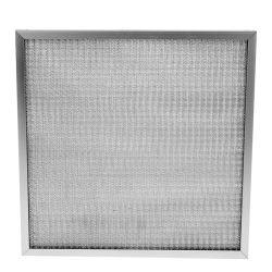商業前のHVACフィルター、台所フードの洗濯できるアルミニウム金属の網フィルター
