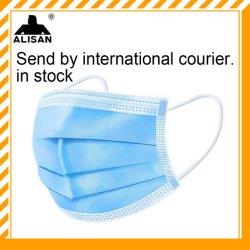 3-Ply mascherine protettive a gettare non tessute della mascherina di 3 strati
