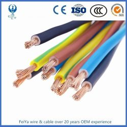 2.5Mm câble métallique résistant au feu des câbles électriques de câblage interne