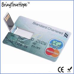 Кредитная карта флэш-накопитель USB 4 ГБ (XH-USB-012)
